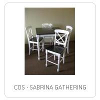 COS - SABRINA GATHERING
